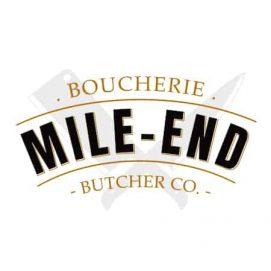 Création de logo à Montréal - Boucherie Mile End
